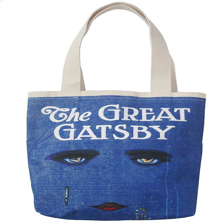 the great gatsby tote bag by bookish england | notonthehighstreet.com