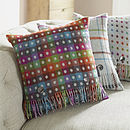 Rainbow Spot Reverse Cushion