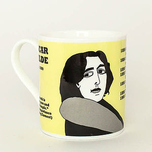 Oscar Wilde Mug - crockery & chinaware