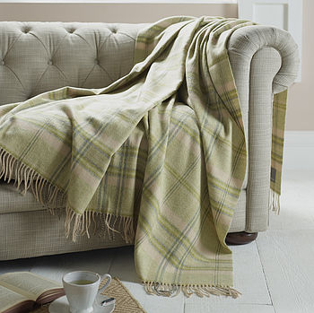 Classic Lambswool Throw