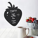 Strawberry Write And Erase Wall Sticker