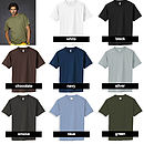 Men's t-shirts colours