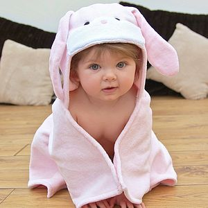 Bunny Baby Hooded Towel - children's easter