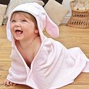 Personalised Bonny Bunny Baby Towel