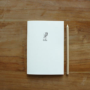 'The Voyage' Eco Travel Notebook Refill