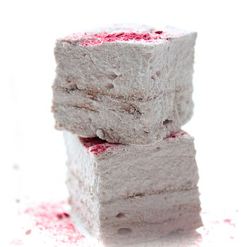 Raspberry Hazelnut Chocolate Swirl Mallows