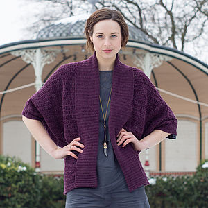 Shawl Neck Merino Wool Cardigan - women's fashion