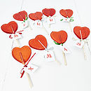 Personalised Heart Christmas Lollipop