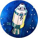 Apollo 11 Space Capsule Detail