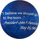 JFK Go To The Moon Quote Detail