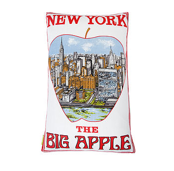 New York Vintage Cushion Big Apple
