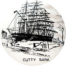 Cutty Sark Vintage Cream Cushion