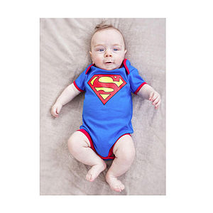 Superman Bodysuit - babygrows