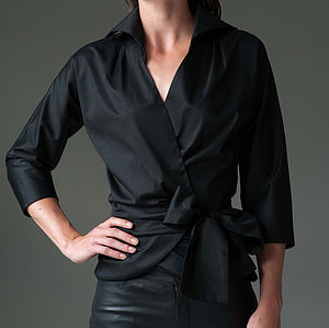 Abigail Shirt Black - blouses & shirts