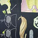 Vintage Botanical Chart 'Orchid'