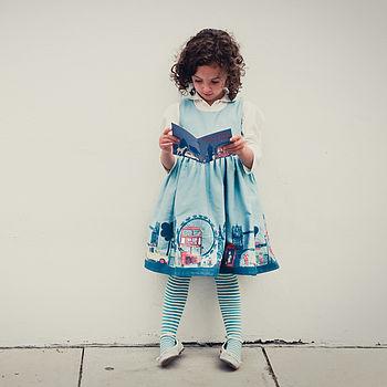 Martha Dress In London Print