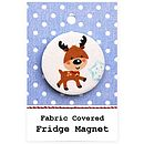 ''Reindeer'' Fridge Magnet Christmas Gift