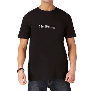 Mr Wrong Funny Mens T Shirt - t-shirts & vests