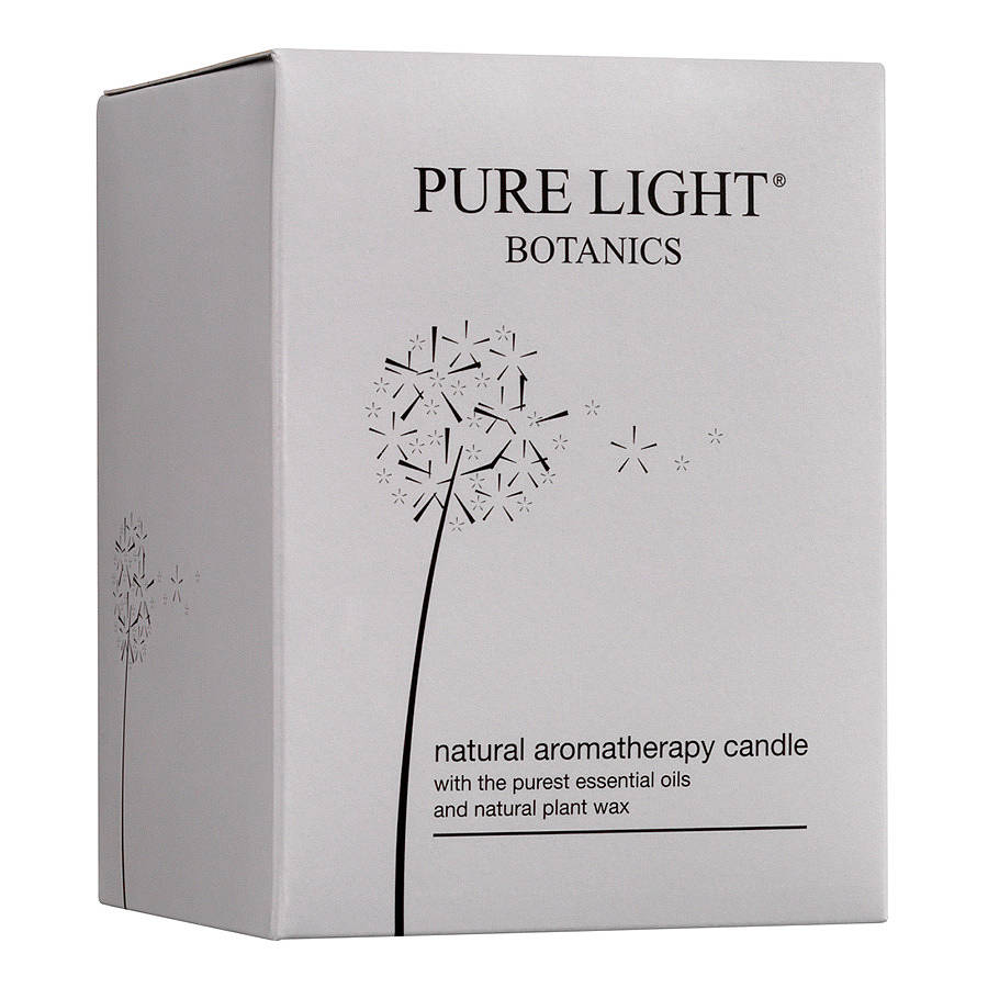comforting cinnamon, orange and clove natural candle by pure light ...