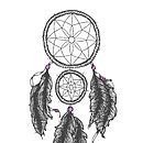 Personalised Sweet Dreams Dream Catcher Print
