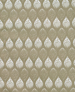 Isabella Stone Organic Cotton Fabric By The Metre