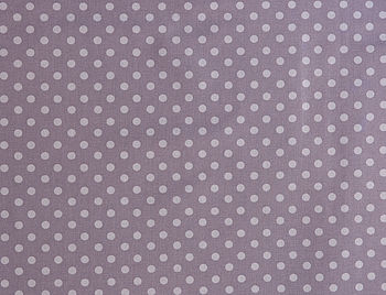 Lavender Spot Wipeable Tablecloth Fabrics By The Metre