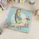 Bon Appetit Retro Glass Trivet Pan Rest