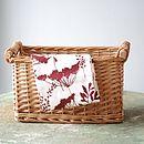 Wine Cowparsley Tea Towel