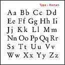 Type - Roman
