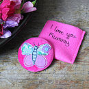 Personalised Butterfly Mirror