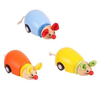 Cute Little Pull Back Mouse Toys