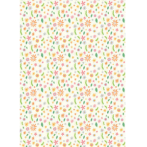 Daisies Wrapping Paper - ribbon & wrap