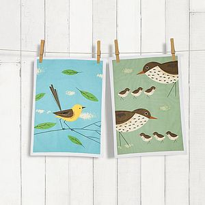 Cotton Tea Towel Set - kitchen