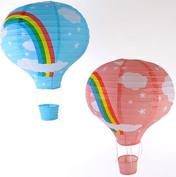 Hot Air Balloon Lampshade