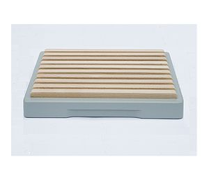 Crumb Catching Painted Breadboard
