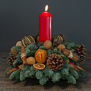 10% Off Christmas Spruce Fresh Table Decoration