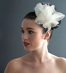 Tulle And Veil Vintage Headpiece