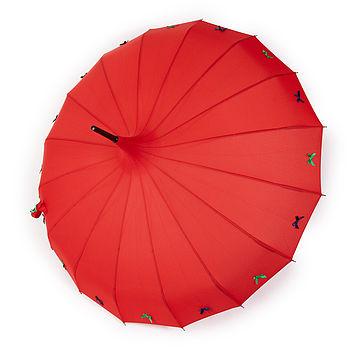 Red bow-tastic umbrella