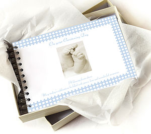 Christening Book - photo albums