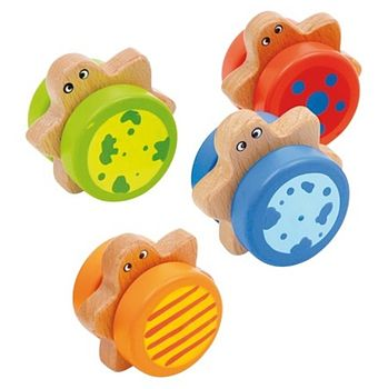 Wooden Rattle Turtle Toy