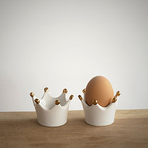 'Henry' The Egg Cup, Set Of Two - egg cups & cosies
