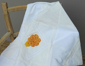 Little Lion Nursery Quilt - cot bedding