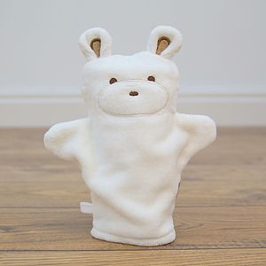 Teddy Puppet Bath Mitt - bathtime