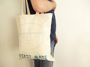 'First Mate' Tote Bag - men's accessories