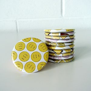 Biscuit Pocket Mirror - home accessories