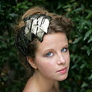 Leather Arrow Headpiece