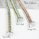 Personalised Friendship Bracelet - New Colours