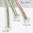 Personalised Friendship Bracelet - New Colours