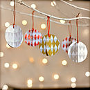 Colour And Glitter Christmas Decorations