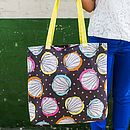 Scribble Shells Canvas Shopper Bag